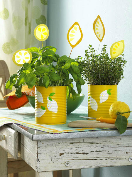 kitchen decorating ideas with herbs 4