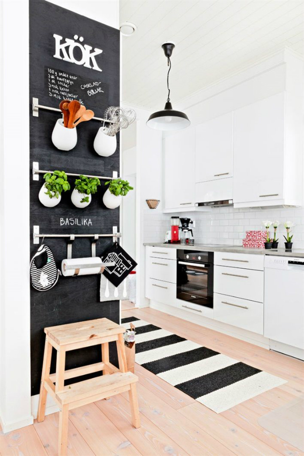 How to decorate your kitchen with herbs 40 ideas decoholic for Ways to decorate kitchen