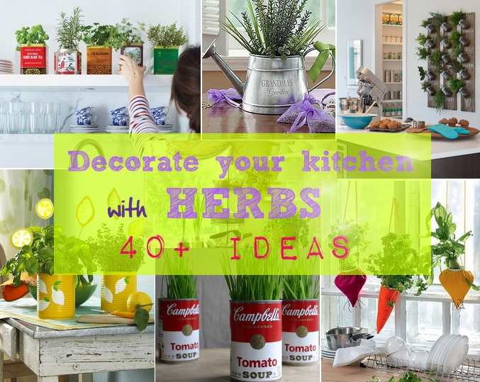How to Decorate your Kitchen With Herbs: 40+ Ideas | Decoholic