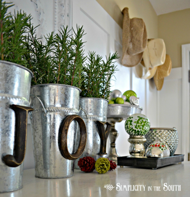 kitchen decorating ideas with herbs 7