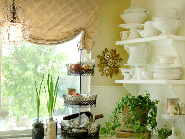 kitchen decorating ideas with herbs 48