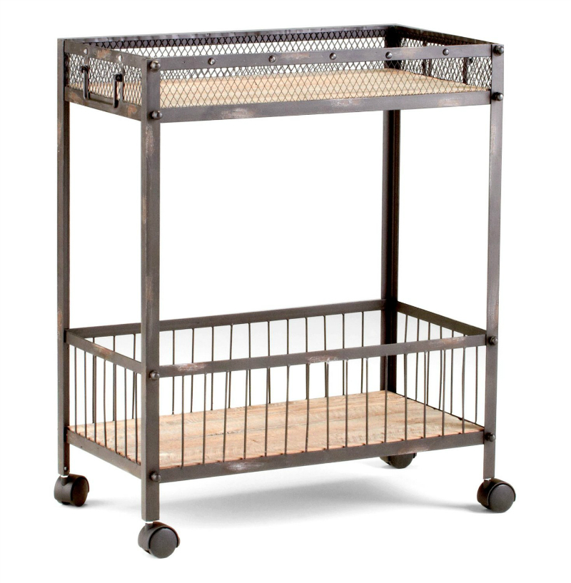 Industrial Kitchen Cart | 20 Best Kitchen Trolleys Carts Decoholic