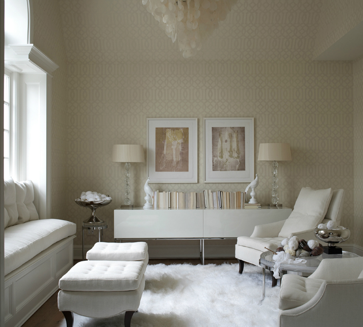 Living Room Ideas: Blend Modern Glamour With Classic Elegance ...