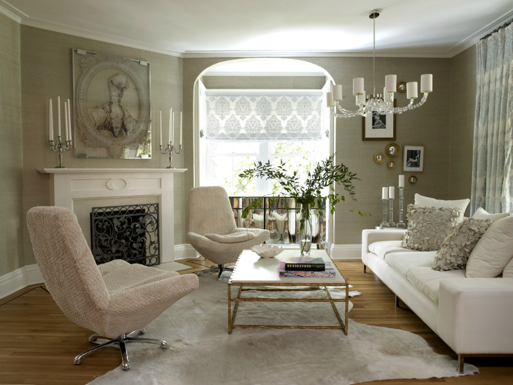 Living room ideas blend modern glamour with classic elegance - Living Room Ideas Blend Modern Glamour With Classic