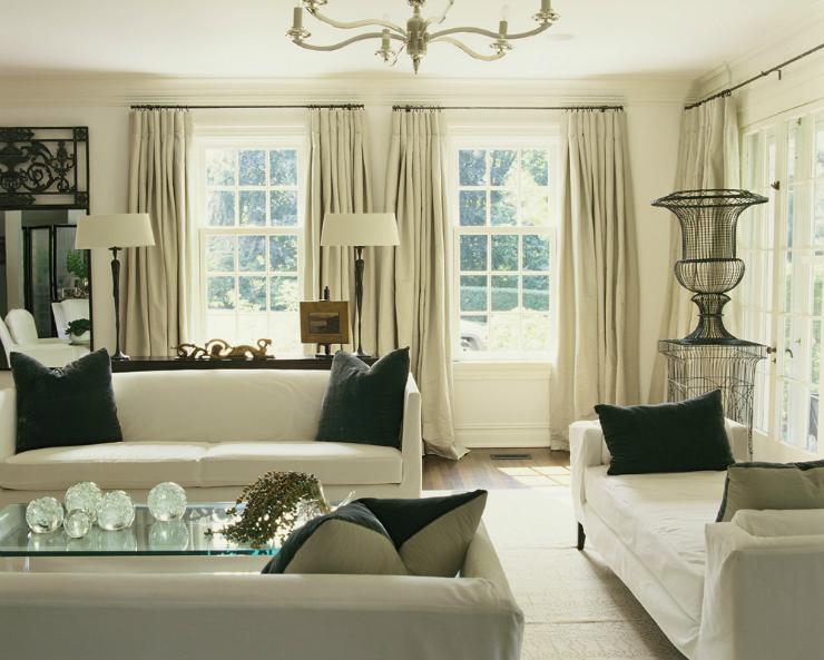 Modern Glamour Living Room 2 3