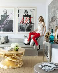 modern glamour living room 6