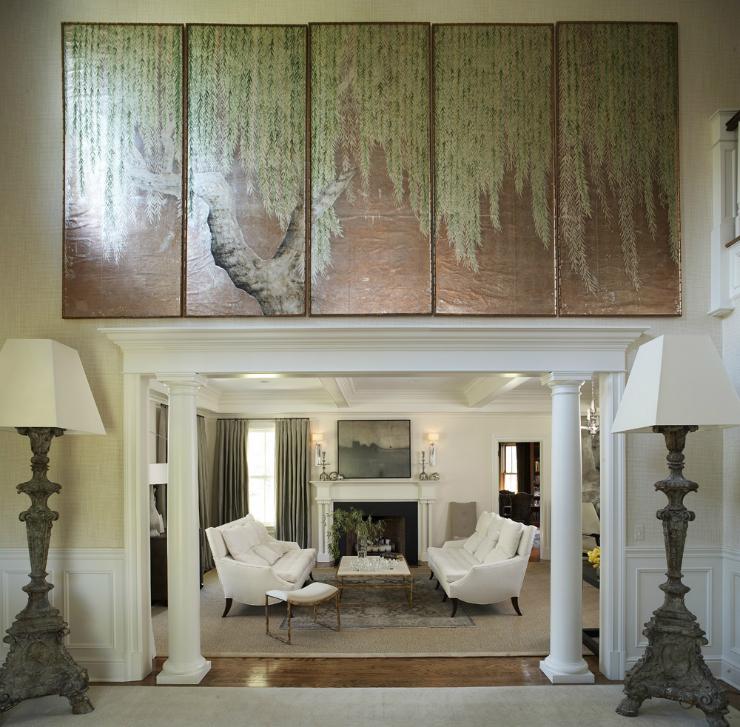 modern glamour living room 7