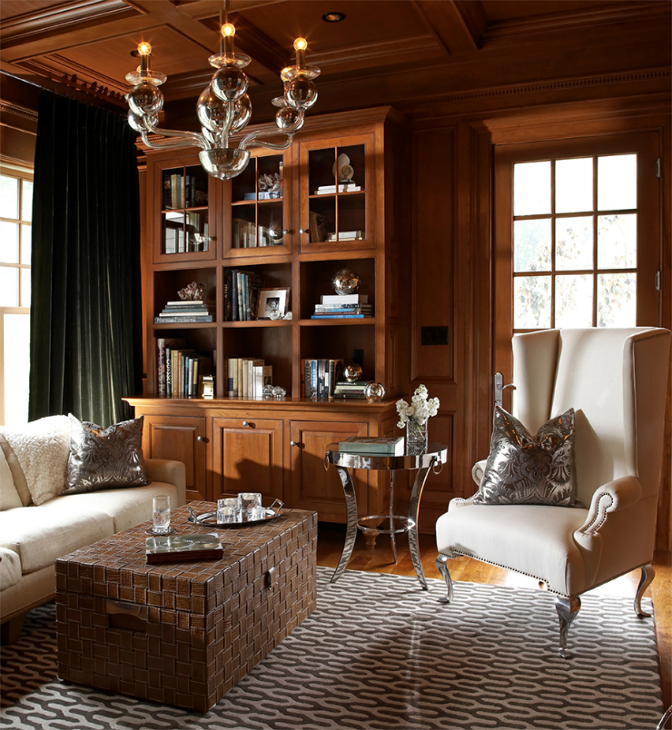 9 Glamorous Living Room Designs: Living Room Ideas: Blend Modern Glamour With Classic