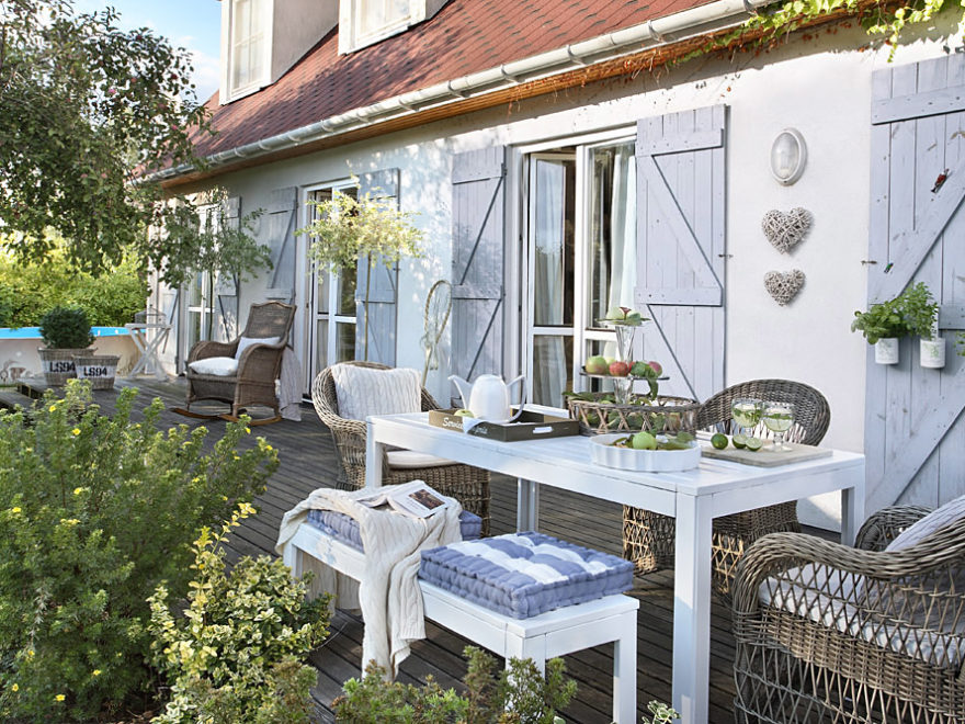 romantic country shabby chic home