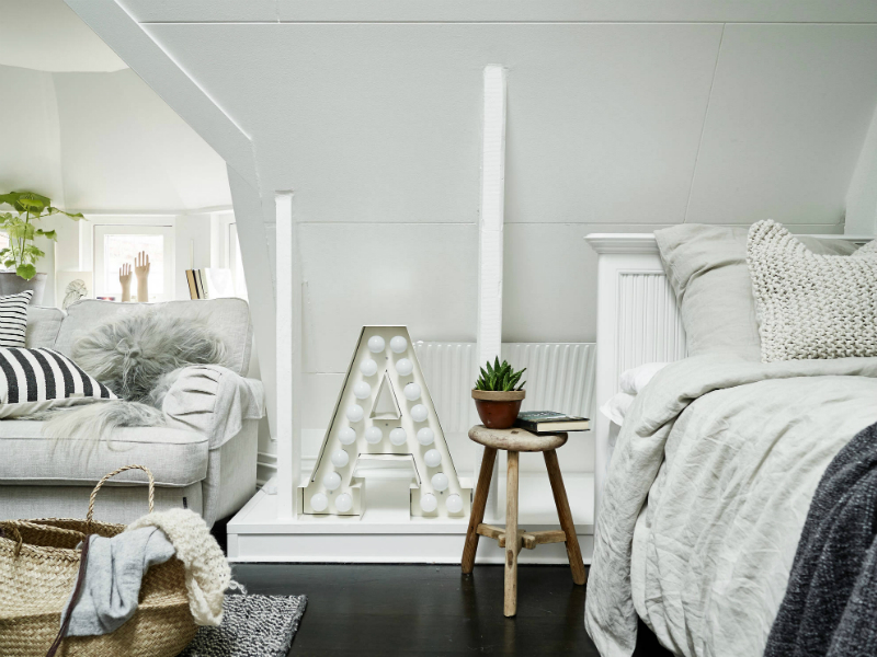 Scandinavian sophisticated small apartment interior 5