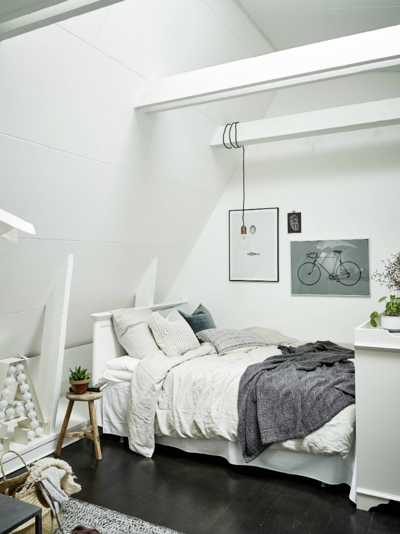 Scandinavian sophisticated small apartment interior 6