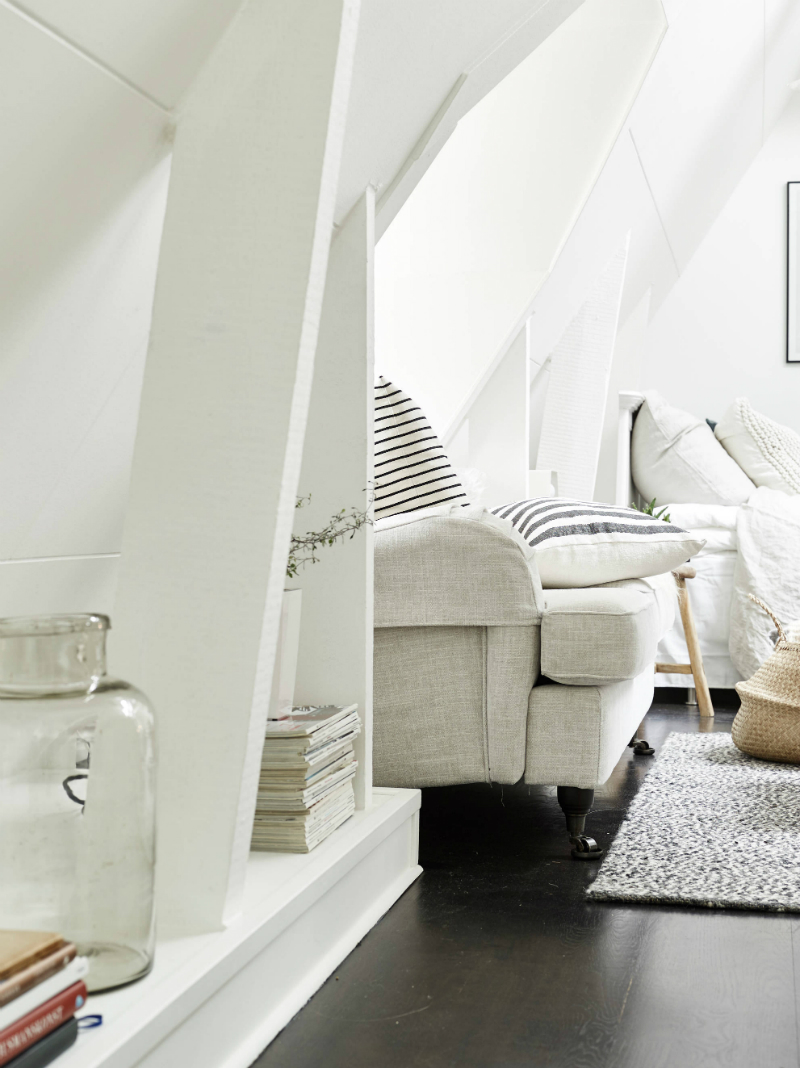 Scandinavian sophisticated small apartment interior 7