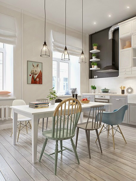 Scandinavian Style Interior In Russia 12