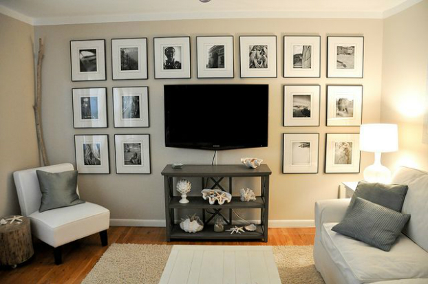 small living room tip hang wall tv