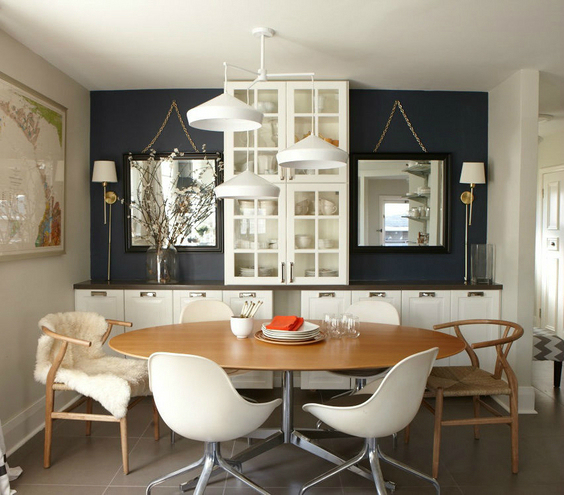 Dining Room Ideas: 10 Tips For Small Dining Rooms (28 Pics)