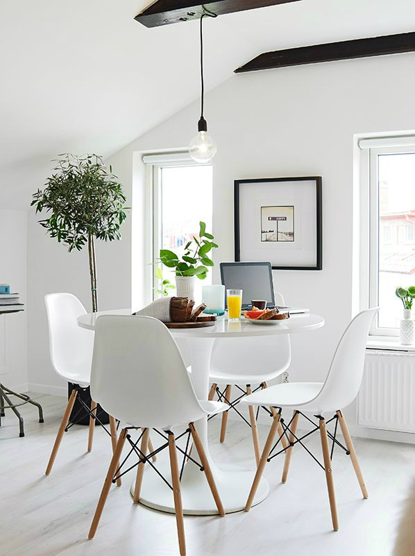 10 tips for small dining rooms 28 pics decoholic - Comedores redondos modernos ...