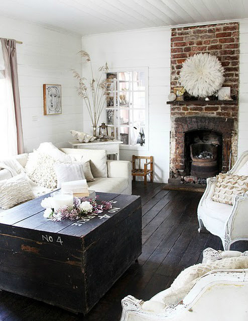 White Living Room Ideas 10