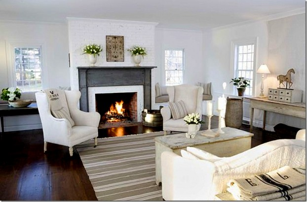 White Living Room Ideas 18