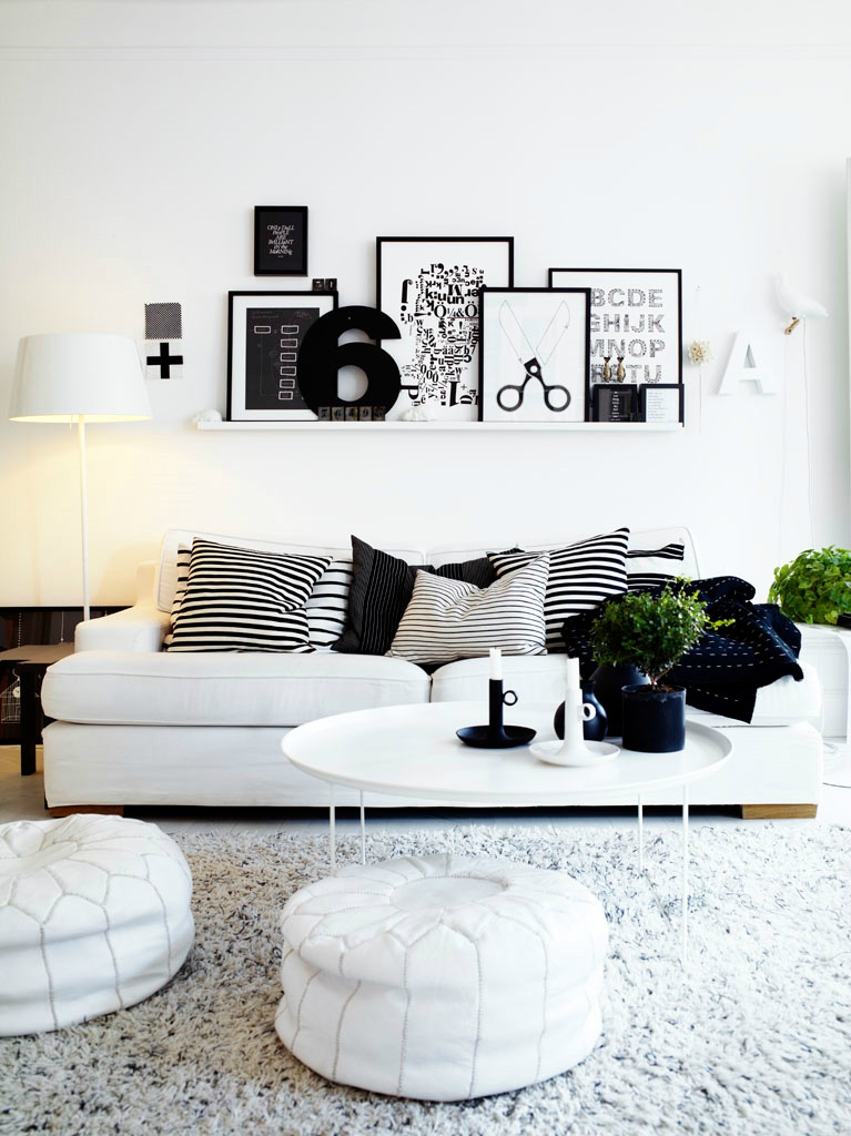 White Living Room Ideas 2