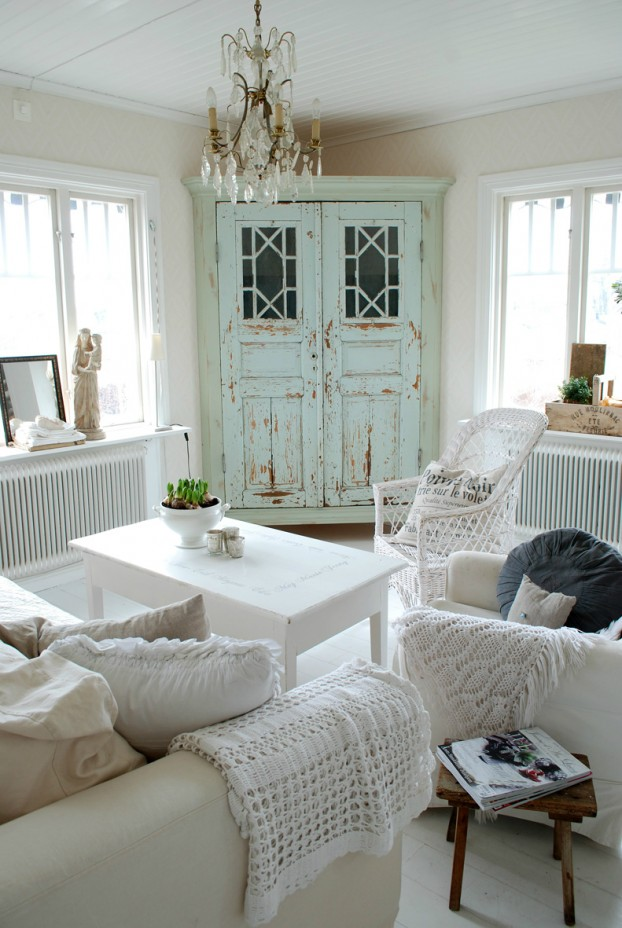White Living Room Ideas 21