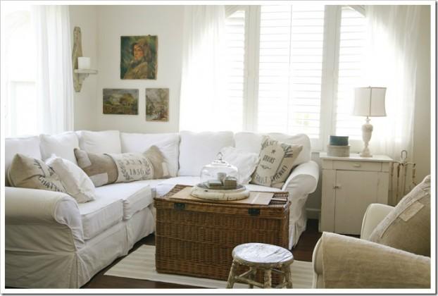 White Living Room Ideas 25