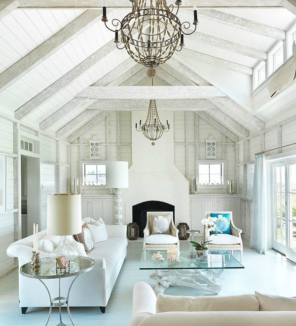 White Living Room Ideas 28