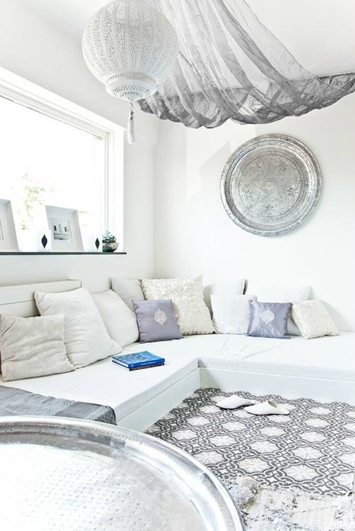 White Living Room Ideas 3