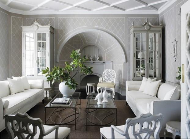 White Living Room Ideas 30