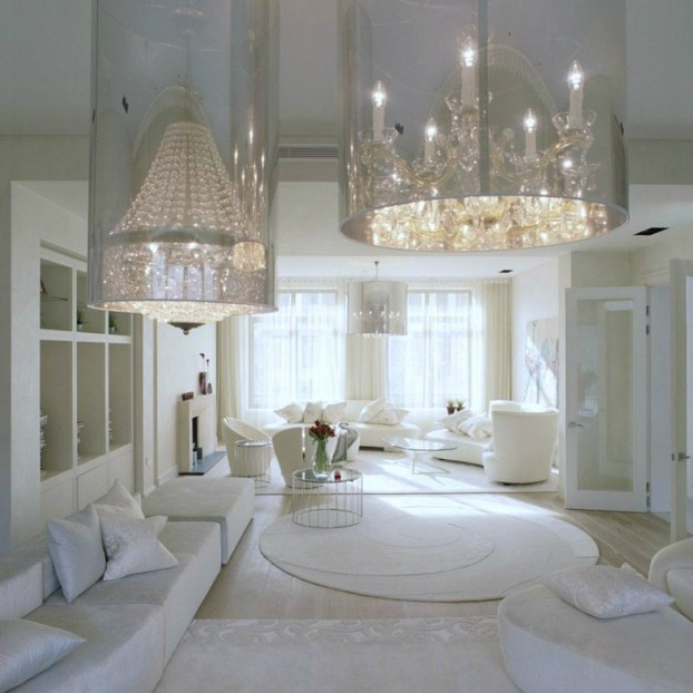 White Living Room Ideas 33