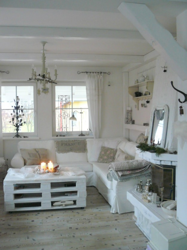 White Living Room Ideas 42