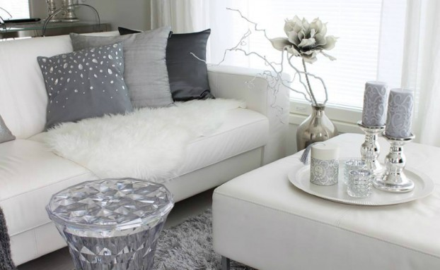White Living Room Ideas 48