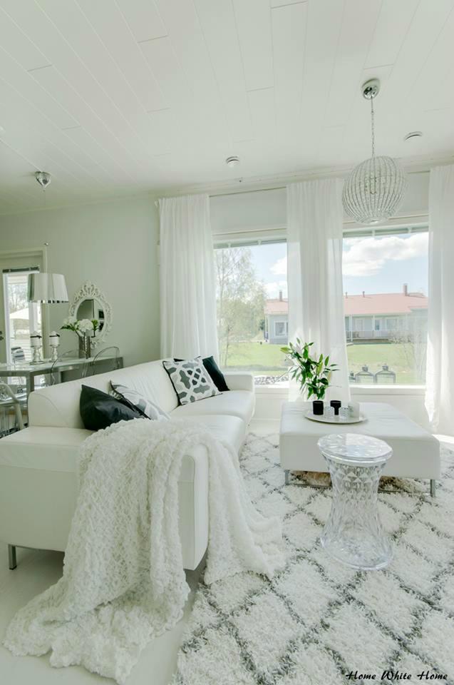 64 white living room ideas  decoholic