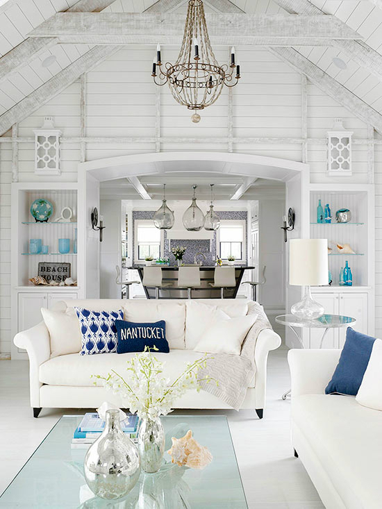 White Living Room Ideas 51