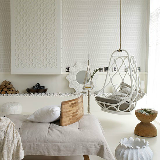 White Living Room Ideas 54