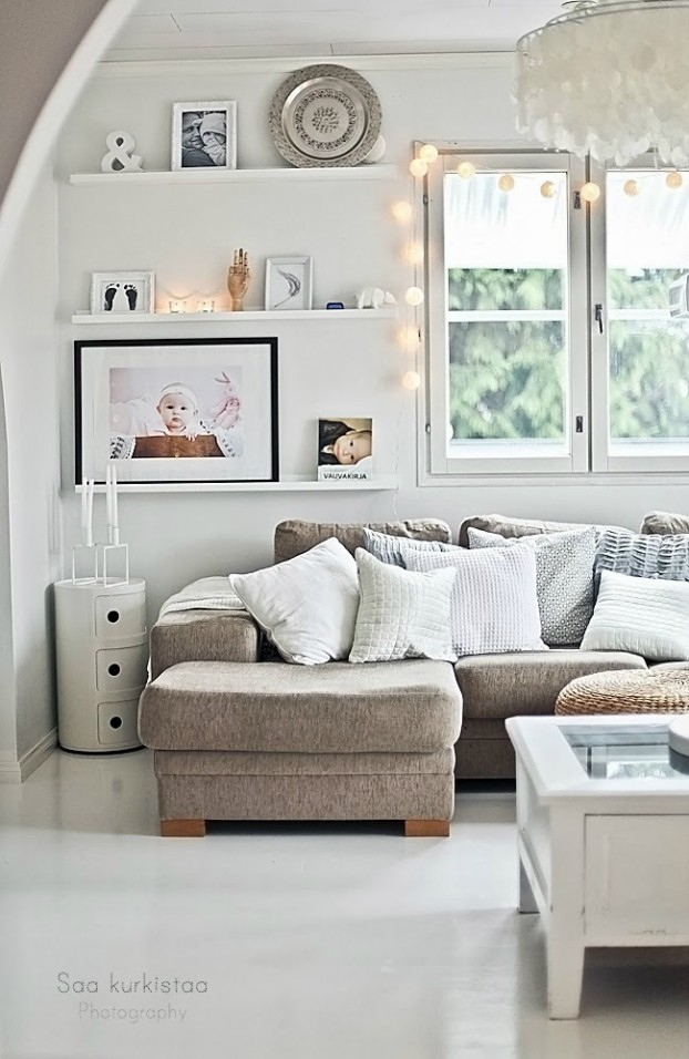 64 white living room ideas decoholic for W living room verbier