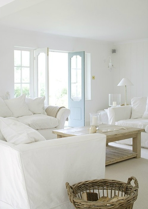 White Living Room Ideas 8