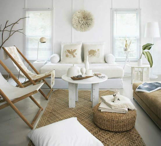 White Living Room Ideas 9