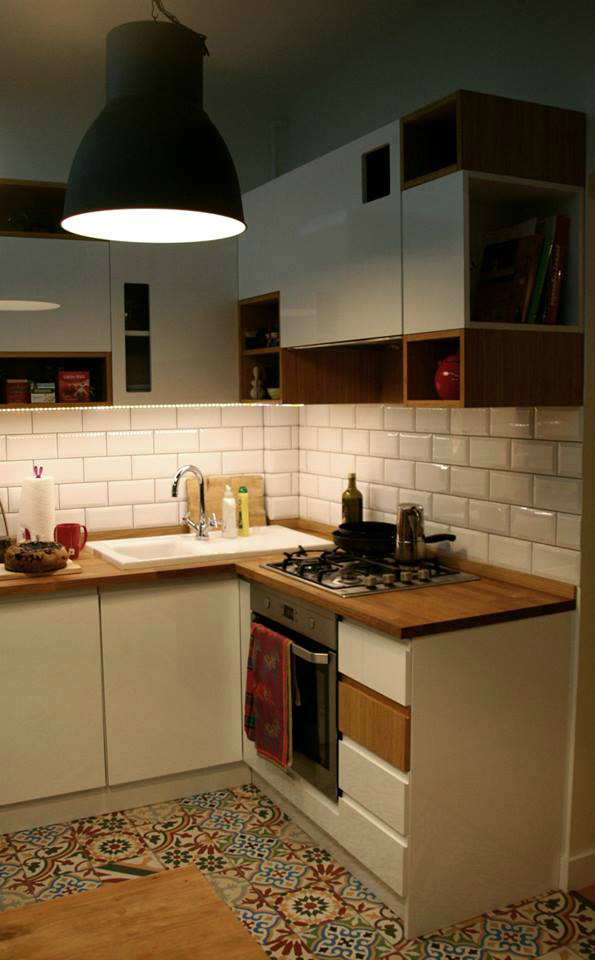 Cozy Small Kitchen By Ck Kwadrat Decoholic