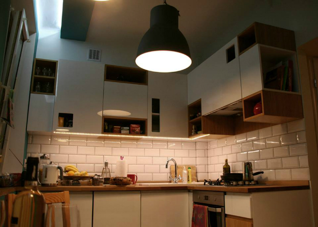 ... Cozy Small Kitchen By CK Kwadrat 11 ...