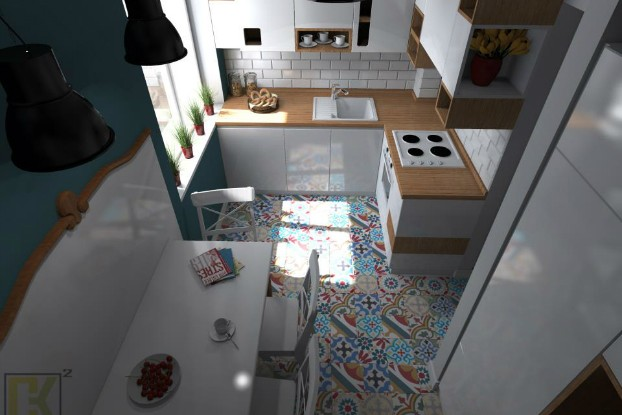 Cozy Small Kitchen by CK kwadrat