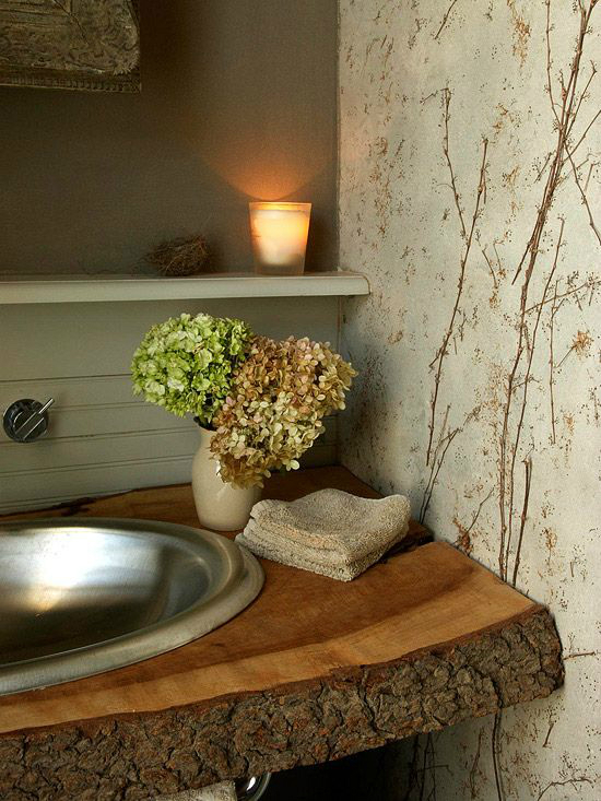 44 Reclaimed Wood Rustic Countertop Ideas 14