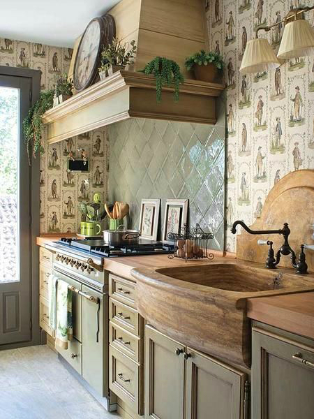 44 Reclaimed Wood Rustic Countertop Ideas 20