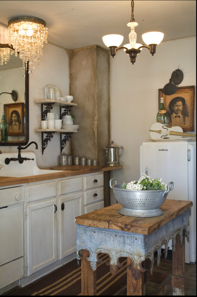 44 Reclaimed Wood Rustic Countertop Ideas 29