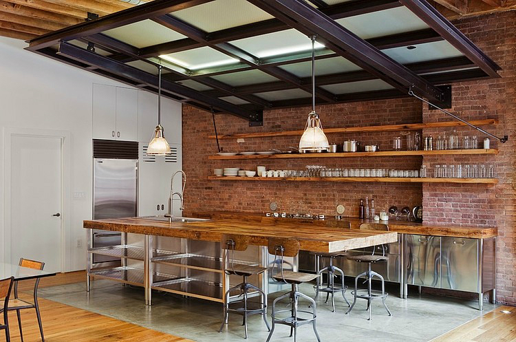 44 Reclaimed Wood Rustic Countertop Ideas 30