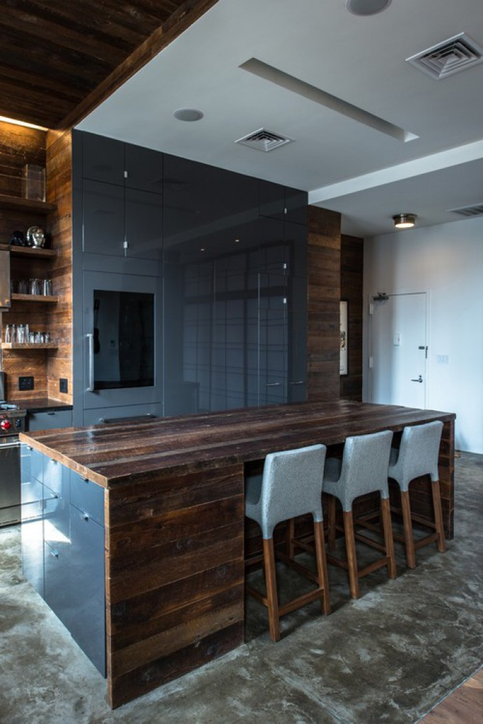 44 Reclaimed Wood Rustic Countertop Ideas - Decoholic on Countertop Decor  id=55851