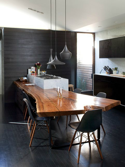 44 Reclaimed Wood Rustic Countertop Ideas 4