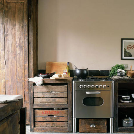 44 Reclaimed Wood Rustic Countertop Ideas 43