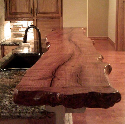 44 Reclaimed Wood Rustic Countertop Ideas 5
