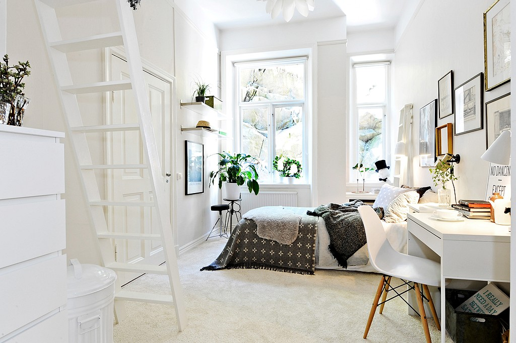 Scandinavian Bedroom Design Idea