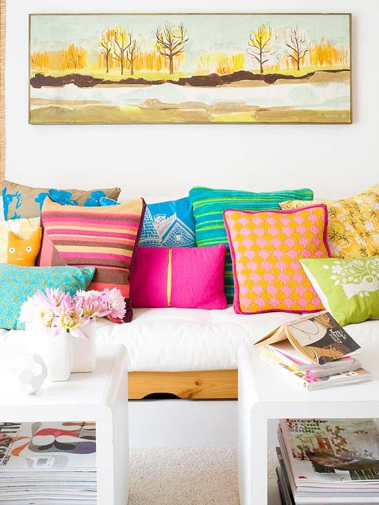 Easy ideas to Add Color to Your Home
